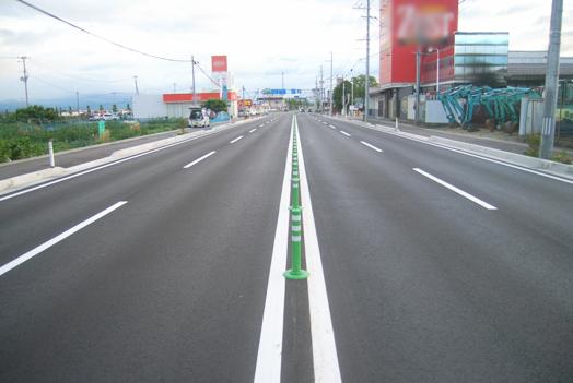 主要地方道山形朝日線車道改良工事